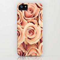 Vintage Roses iPhone & iPod Case by Tess Elizabeth