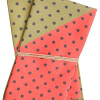 Watermelon Dot Napkin Set | LEIF