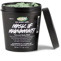 Lush Mask of Magnaminty Face Cleanser Cream 11.1 Oz (315g)