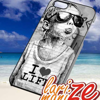 i Love Life graffiti - iPhone 4/4s/5 Case - Samsung Galaxy S2/S3/S4 Case - Blackberry Z10 Case - Ipod 4/5 Case - Black or White