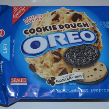 Oreo Cookie Dough Limited Edition Cookies (Cookie Dough) 12.2 oz