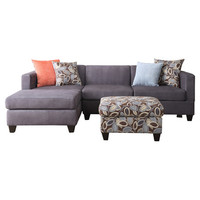 Liza Sectional Sofa with Ottoman