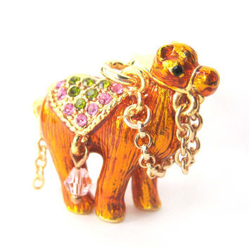 Camel Shaped Enamel Animal Pendant Necklace | Limited Edition Animal Jewelry from DOTOLY - Unique Animal Jewelry