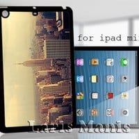 vintage new york city - desain case for iPad mini