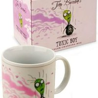Tim Burton Heat Sensitive Mug: Toxic Boy