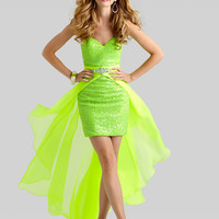 Sweetheart Beaded Formal Prom Dress Clarisse 2334