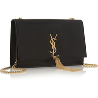 Saint Laurent - Monogramme leather shoulder bag