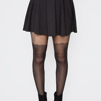 Nora Lace Tights - One