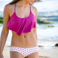 The Girl and The Water - Tori Praver - Gina Bikini Top / Orchid - $110