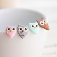 Owl Earring Set v2