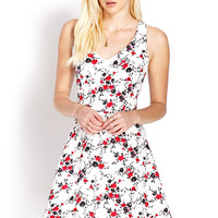 Garden Girl Fit & Flare Dress