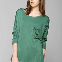 Truly Madly Deeply Bat-Sleeve Top - Urban Outfitters