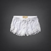 Hollister Drapey Lace Short-Short
