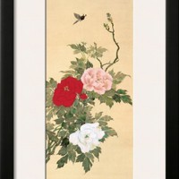 April Framed Giclee Print by Sakai Hoitsu at Art.com
