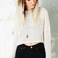 Staring at Stars Mexican Mix Cropped Sweater - Urban Outfitters