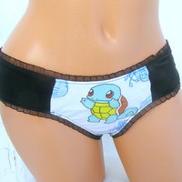 Pokemon geek thong Panties Lingerie your size your fav Pokemon