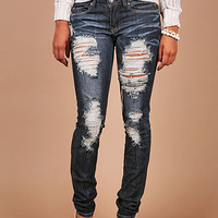 Ripped Revenge Skinny Denim | Cheap, Trendy Denim Jeans