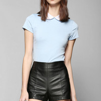 Coincidence & Chance Open-Back Collared Top - Urban Outfitters