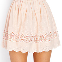 On The Prairie Embroidered Skirt