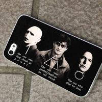 Harry Potter-Character- for iPhone 4/4s/5/5c/5s, Samsung S3/S4 case cover, gift under 25