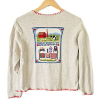Amish Love USA Patriotic Country Ugly Sweater