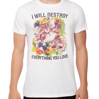 I Will Destroy Cat T-Shirt