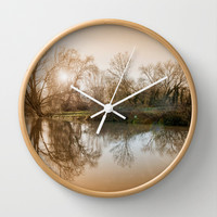 TREE - FLECTION 2 Wall Clock by Catspaws