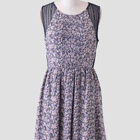 Christa Lace Detail Floral Dress