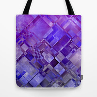 SQUARE THOUGHTS Tote Bag by Catspaws