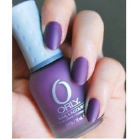 Amazon.com: Orly Matte Couture Purple Velvet 40243 Nail Polish / Lacquer / Enamel: Beauty