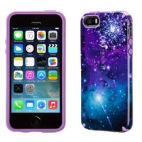 Speck Products CandyShell Inked Case for iPhone 5/5s, SPK-A2751 - Carrying Case - Retail Packaging - Galaxy Purple/Revolution Purple