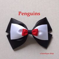 penguins hair bow