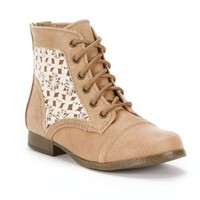 Candie's® Lace-Up Ankle Boots - Girls