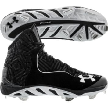 Under Armour Men's Spine Highlight ST Baseball Cleat Black DICK'S Sporting Goods