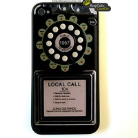 Iphone 4 Case Retro Rotary Dial iPhone 4 Case by KeepCalmCaseOn