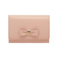 Bow French Purse in Ballet Pink Shiny Goat | Family | Mulberry