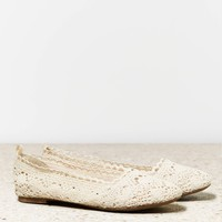 AEO CROCHETED FLAT