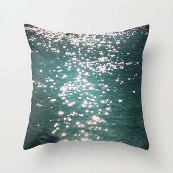 sparks of hope  Throw Pillow by Marianna Tankelevich