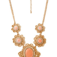 Regal Flower Necklace