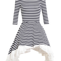 NATASHA ZINKO | Striped Jersey Prom Dress | Browns fashion & designer clothes & clothing