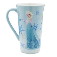 Disney Store Frozen Elsa Coffee Drink Mug