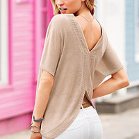 Split-back Sweater - Victoria's Secret