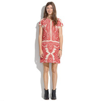 Silk Paisley Tunic Dress