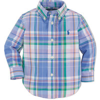 Kids' | Newborn Boys 0-9 Months | Baby Boys Blake Shirt | Lord and Taylor