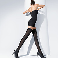 Fatal 80 Seamless Stay-Up, Stay-Up/Stockings, Wolford Online Shop