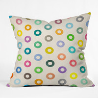 Nick Nelson Auras Throw Pillow