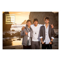 Emblem3 Official Store | Emblem3 Beach Photo 2014 Tour Poster