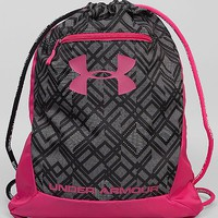 Under Armour® Hustle Drawstring Bag