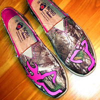 Painted Browning Camo Realtree Bobs- BOBS are INCLUDED