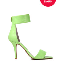 Jeffrey Campbell Inaba Glow in the Dark Sandal Heel